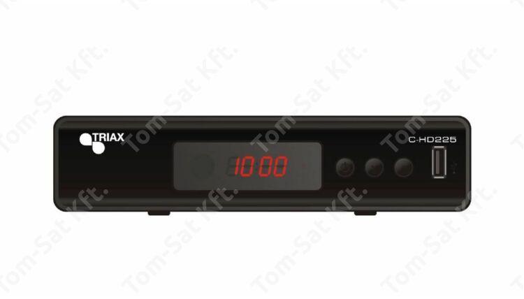 Triax C-HD225 FTA digitális kábeltévé vevő és rögzítő