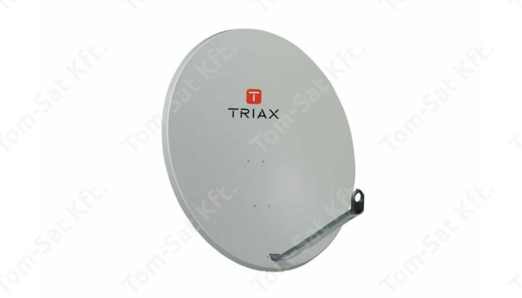 Triax TDS 110 acél parabola antenna (szürke) 100cm átmérő