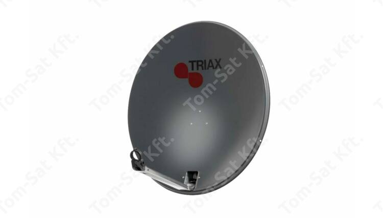 Triax TDS 78 acél parabola antenna (antracit)