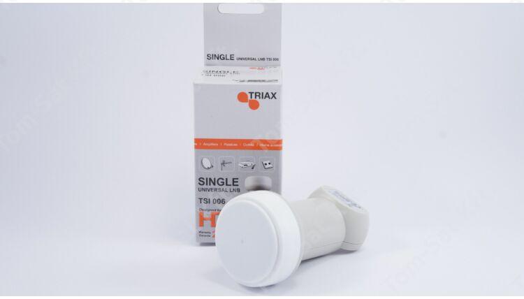 Triax TSI 006 SINGLE műholdvevő fej (LNB)