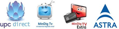 MinDig TV forgalmazó, UPC Direct műholdas TV forgalmazó, ASTRA hivatalos partner