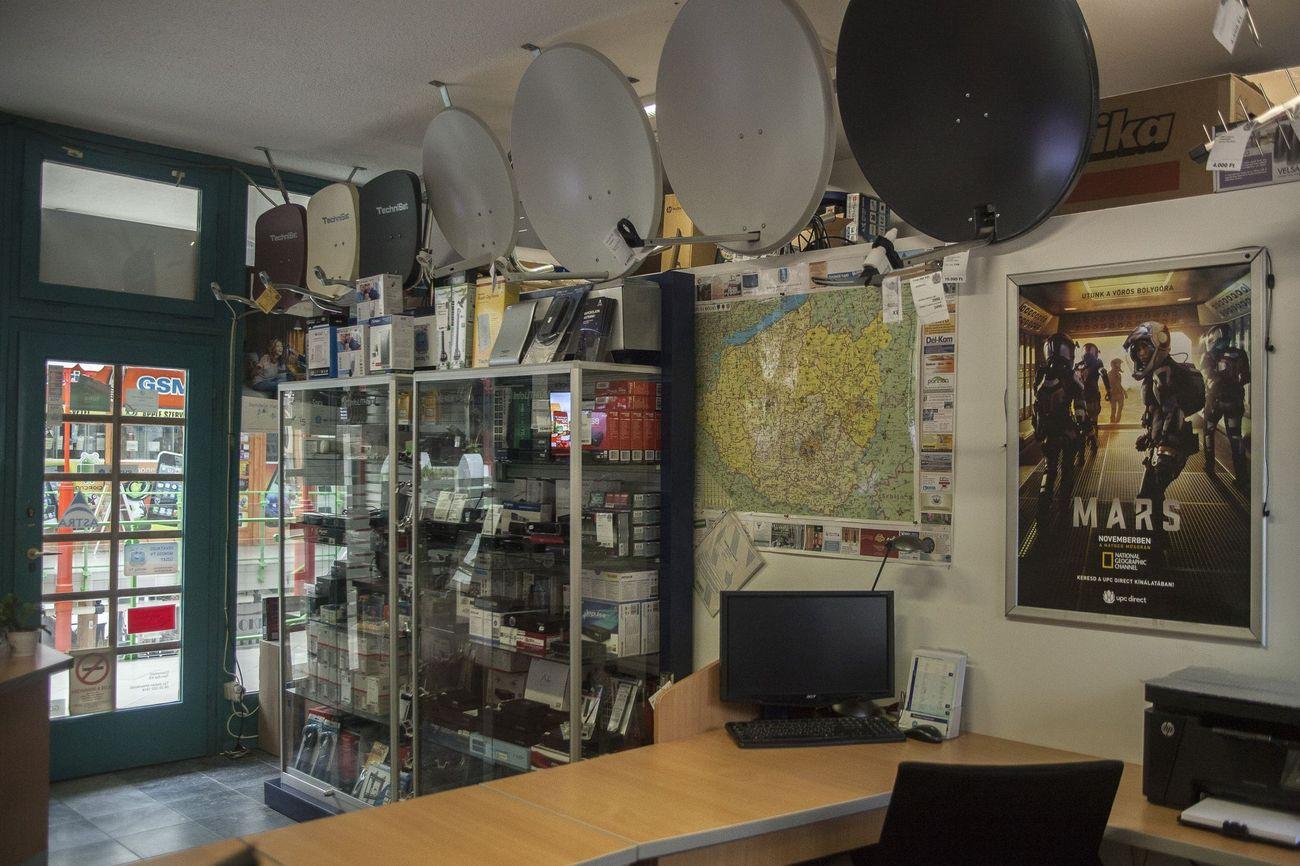 Üzletünk kínálata - UPC Direct, MinDig TV, vevők, antennák, kellékek - Tom-Sat Kft. - Pécs